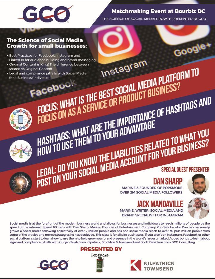 Social Media for Small Businesses Webinar August 28th 2018